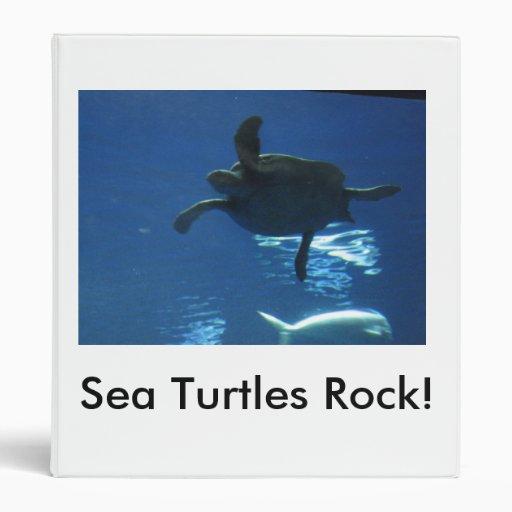 ¡Roca de las tortugas de mar! Carpeta