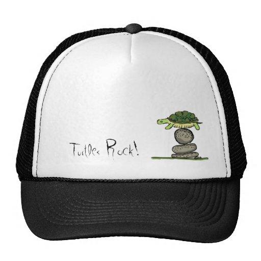 ¡Roca de las tortugas! Gorras