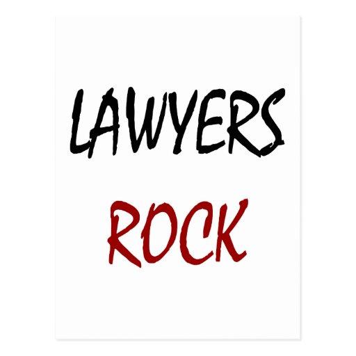 Roca de los abogados postal