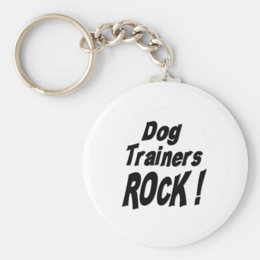 ¡Roca de los adiestradores de perros! Llavero