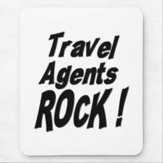 ¡Roca de los agentes de viajes! Mousepad