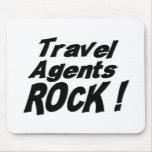 ¡Roca de los agentes de viajes! Mousepad Alfombrillas De Ratón