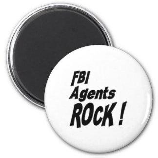 ¡Roca de los agentes del FBI! Imán