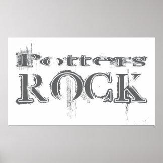 Roca de los alfareros impresiones