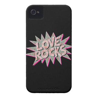 ROCA de los amores Case-Mate iPhone 4 Carcasa