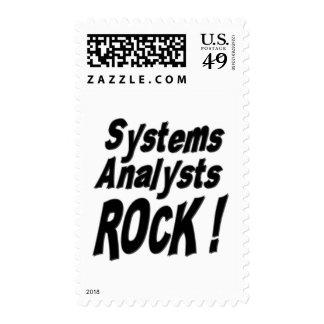 ¡Roca de los analistas de sistemas! Franqueo