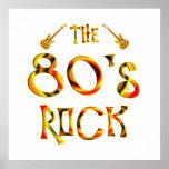 roca de los años 80 impresiones