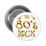 roca de los años 80 pins