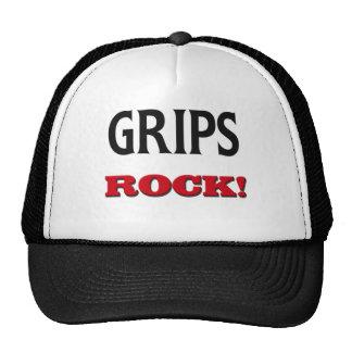 Roca de los apretones gorra