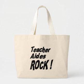 ¡Roca de los asistentes del profesor! La bolsa de