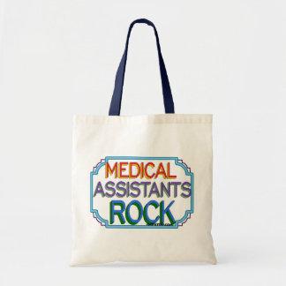 Roca de los auxiliares médicos bolsa de mano