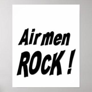 ¡Roca de los aviadores Impresión del poster