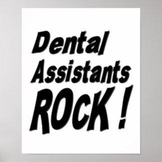 ¡Roca de los ayudantes de dentista Impresión del