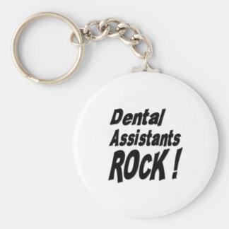 ¡Roca de los ayudantes de dentista! Llavero
