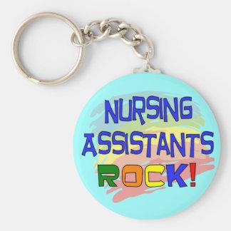 ROCA de los ayudantes del oficio de enfermera Llavero Personalizado