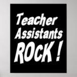 ¡Roca de los ayudantes del profesor! Impresión del