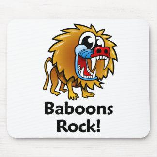¡Roca de los babuinos! Alfombrillas De Ratones