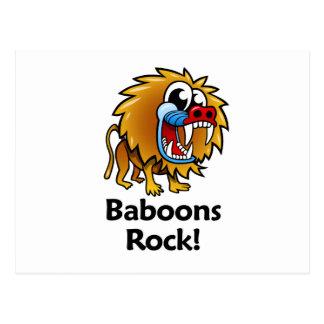 ¡Roca de los babuinos! Postales