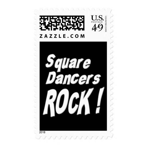 ¡Roca de los bailarines cuadrados! Franqueo