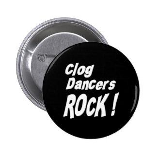 ¡Roca de los bailarines del estorbo! Botón Pin Redondo De 2 Pulgadas
