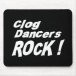 ¡Roca de los bailarines del estorbo! Mousepad Tapetes De Ratón