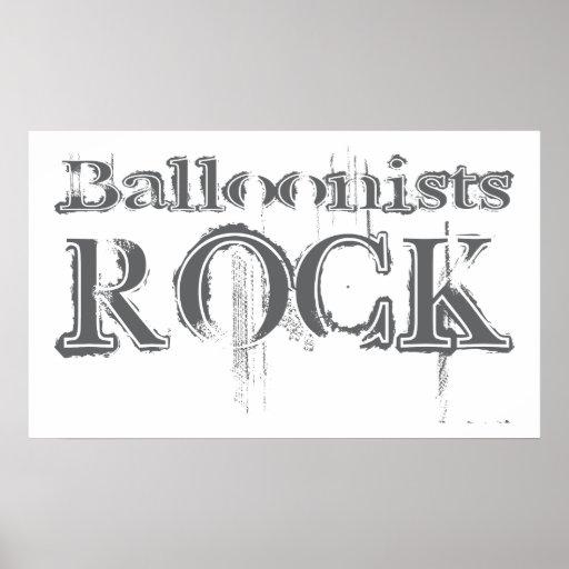 Roca de los Balloonists Posters