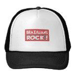 ¡Roca de los brasilen@os! Gorros