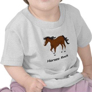 Roca de los caballos (bahía) camiseta