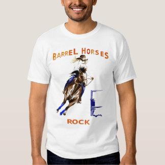 Roca de los caballos del barril remeras