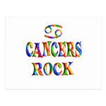 Roca de los cánceres postal