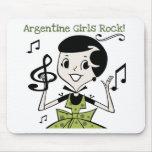 Roca de los chicas de Argentina Alfombrilla De Ratón