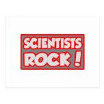 ¡Roca de los científicos! Postal
