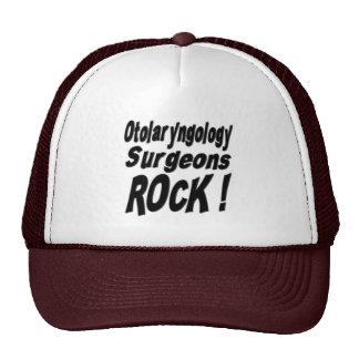 ¡Roca de los cirujanos de la otorrinolaringología! Gorras De Camionero
