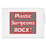 ¡Roca de los cirujanos plásticos! Felicitacion