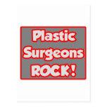 ¡Roca de los cirujanos plásticos! Postal