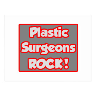¡Roca de los cirujanos plásticos! Tarjetas Postales