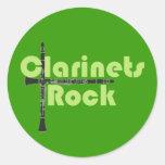 Roca de los Clarinets Etiqueta Redonda