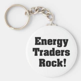 ¡Roca de los comerciantes de la energía! Llavero