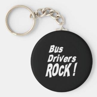 ¡Roca de los conductores del autobús! Llavero