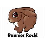 ¡Roca de los conejitos! Postal