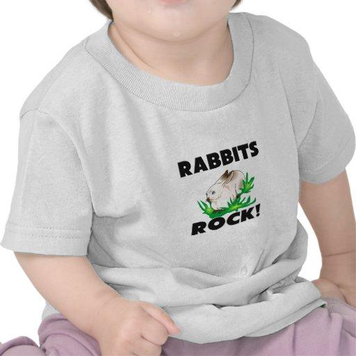 Roca de los conejos camisetas