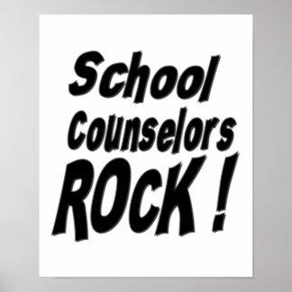 ¡Roca de los consejeros de la escuela! Impresión d Impresiones