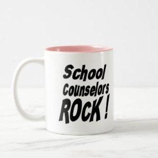 ¡Roca de los consejeros de la escuela! Taza