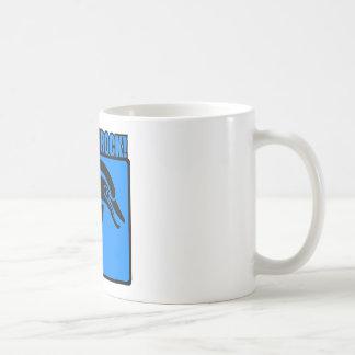 ¡Roca de los delfínes! $3 Taza De Café