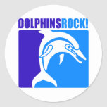 ¡Roca de los delfínes! #4 Pegatina Redonda