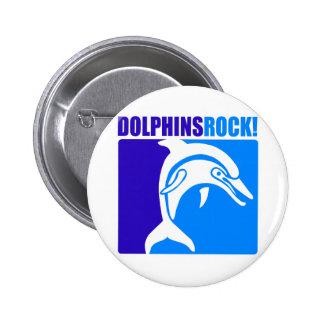 ¡Roca de los delfínes 4 Pin