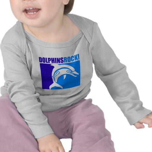 ¡Roca de los delfínes! Camiseta