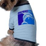 ¡Roca de los delfínes! Camiseta De Mascota