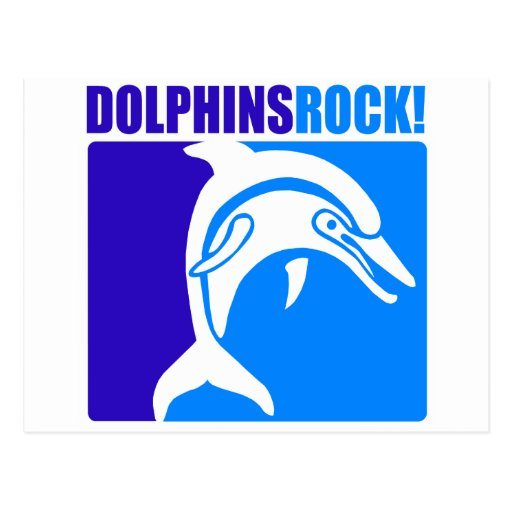 ¡Roca de los delfínes! Tarjetas Postales