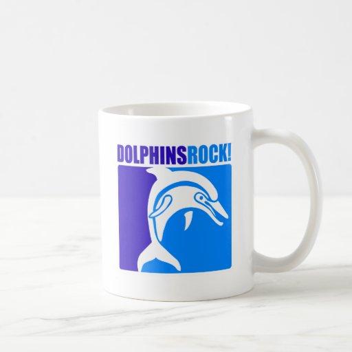 ¡Roca de los delfínes! Taza